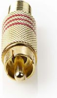 Stik, Valueline Connector RCA Male Gold/Red, VGAP24900R