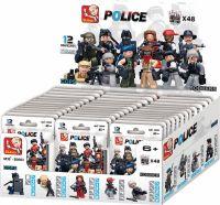 Sluban Byggeklodser Police Serie Minifigures, M38-B0583
