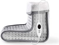 Nedis Foot Warmer | 6-Heat Settings | Washable | Digital Control | Overheat protection, PEFW110CGY