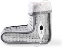 Nedis Fodvarmer | 6 varmeindstillinger | Kan vaskes | Digital betjening | Overophedningsbeskyttelse,