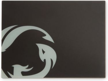 Nedis Gaming Mouse Pad | Super Smooth Float Glass | 400 x 300mm, GMPDG100BK