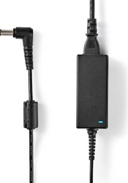 Nedis Notebook Adapter 39 W | 6.5 x 4.4 mm centre pin | 19.5 V / 2 A | Used for SONY | Power Cord In