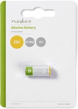 Nedis Alkaliske batterier 23 A | 12 V | 1 deler | Blister, BAAK23A1BL