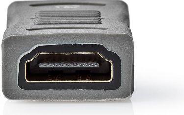 Nedis Høyhastighets HDMI™-Adapter med Ethernet | HDMI™-Hunn – Hann | Metall | Svart, CVGC34900ME
