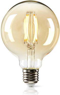 Nedis LED-retroglødepære E27   G95   2,8 W   200 lm, LEDBDFE27G95GD