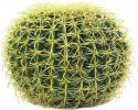 Udsmykning & Dekorationer, Europalms Barrel Cactus, artificial plant, green, 37cm