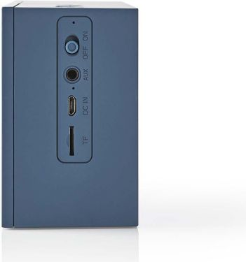 Nedis Bluetooth®-højttaler | 15 W | Op til 4 timers spilletid | Blå, SPBT2001BU
