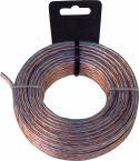 Kabel, Valueline Speaker Cable on Reel 2x 1.50 mm² 10.0 m Transparent, LSP-050LC/10