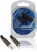 Bandridge, Bandridge Audio Connector Kit 3.5 mm Black, BPP300