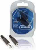 Bandridge, Bandridge Audio Connector Kit 3.5 mm Black, BPP400