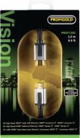 Profigold, Profigold High Speed HDMI Cable with Ethernet HDMI Connector - HDMI Connector 2.00 m Black, PROV1202