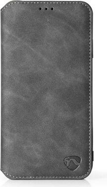 Nedis Soft Wallet Book for Samsung Galaxy A8 2018 | Black, SSW10002BK