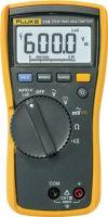 Fluke, Fluke Multimeter, digitalt FLUKE 114 TRMS AC 6 000 Sifre 600 VAC 600 VDC, FLUKE 114