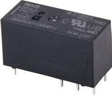 Vertikalt relæ 24VDC / 16A, 1 x omskifter (SPDT)
