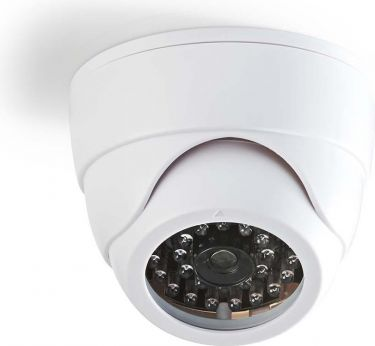 Nedis Dummy Security Camera | Dome | White, DUMCD30WT