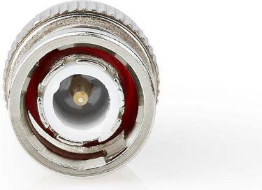 Nedis BNC-stikforbindelse | Han | Til 7,0 mm koaksialkabler | 25 stk. | Metal, CVVC01916ME