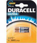 Alkalinebatterier, Duracell Duracell Alkaline AAAA/MX2500 1,5V (2 stk.)