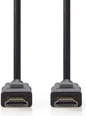 Nedis Ultra High Speed HDMI™-kabel | HDMI™-stikforbindelse - HDMI™-stikforbindelse | 1,00 m | Koksgr
