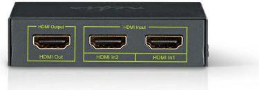 Nedis HDMI™-kontakt | 2 porte - 2 x HDMI™-indgang | 1 x HDMI™-udgang | 4K2K@60fps/HDCP2.2, VSWI3432A