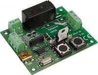 "<span class=""c10"">Velleman -</span> VM206 Universal timer-relæmodul m. USB-indgang (8A/250V)"