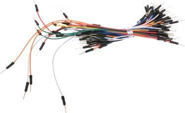 "<span class=""c9"">Velleman -</span> Jumper ledningssortiment 9 til 20cm ass. han/han (65 stk.)"