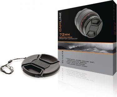 Camlink Snap-On Objektivlåg 72 mm, CL-LC72