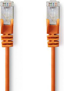 Nedis Kat. 5e SF/UTP-netværkskabel | RJ45-hanstik | RJ45-hanstik | 0,5 m | Orange, CCGP85121OG05