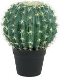 Udsmykning & Dekorationer, Europalms Barrel Cactus, artificial plant, 34cm