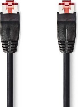 Nedis Cat 6 UTP Network Cable   RJ45 Male - RJ45 Male   1.0 m   Black, CCGP85200BK10