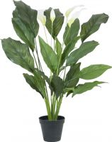 Europalms Spathiphyllum deluxe, artificial, 83cm