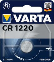 Varta Lithium Button Cell Battery CR1220 3 V 1-Blister, 6220.101.401