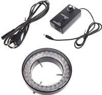 Mikroskop/kamera LED ringlampe Ø60mm, inkl. styring
