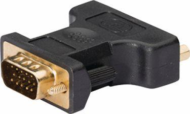 König VGA Adapter VGA Male - DVI-I 24+5-Pin Female Anthracite, KNC32901E