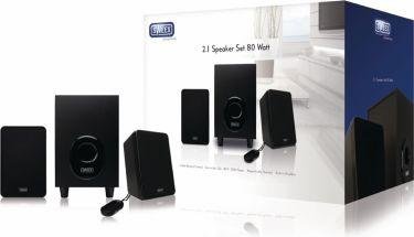 Sweex Speaker 2.1 Wired 3.5 mm 11 W Black, SP024