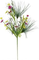 Udsmykning & Dekorationer, Europalms Wild Flower Spray, artificial, Pink