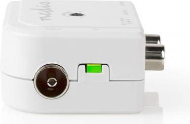 Nedis CATV-forstærker | Max. 15 dB forstærkning | 50-790 MHz | 2 Udgange | IEC, SAMP40020WT