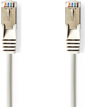Nedis Cat 5e SF/UTP Network Cable | RJ45 Male - RJ45 Male | 1.5 m | Grey, CCGP85121GY15