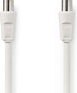 Nedis Coax Cable 90dB | IEC (Coax) Male - IEC (Coax) Female | 10 m | White, CSGP40000WT100