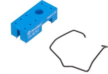 """<span class=""""c9"""">FINDER -</span> Printsokkel til vertikalt relæ 8 ben, 5mm benafst."""