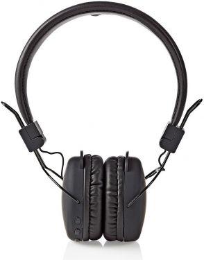 Nedis Trådløse hovedtelefoner | Bluetooth® | On-ear | Foldbar | Sort, HPBT1100BK