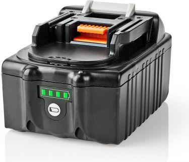 Nedis Power Tool Battery | Li-Ion | 18 V | 4 Ah | 72 Wh | Replacement for Makita, P4AHMA18V01