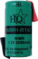 HQ, HQ Rechargeable NiMH Battery 1.2 V 2500 mAh 1-Pack, NIMH-R14Z