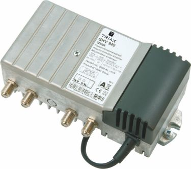 Triax Amplifier 40 dB 47-1006 MHz 1 Output, 323166