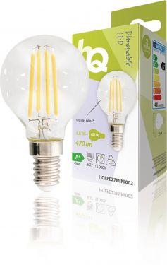 HQ LED Vintage Filament Lamp Mini Globe 4.8 W 470 lm 2700 K, HQLFE27MINI002