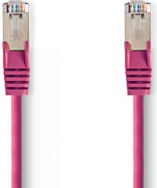 Nedis Cat 5e SF/UTP Network Cable | RJ45 Male - RJ45 Male | 30 m | Pink, CCGP85121PK300
