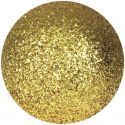 Christmas Decorations, Europalms Deco Ball 3,5cm, gold, glitter 48x