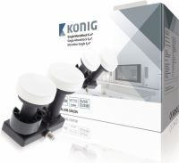 König LNB Single Monoblock 6.0° 1.1 dB, KN-LNB-SM60N
