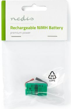 Nedis Nickel-Metal Hydride Battery | 1.2 V | 1000 mAh | Solder Connector, BANM11520SC