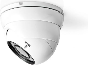 Nedis CCTV Security Camera   Dome   Full HD   For use with analogue HD DVR, AHDCDW20WT