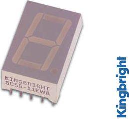 SC56-11HWA DISPL. 14mm rød 1.4mcd CC